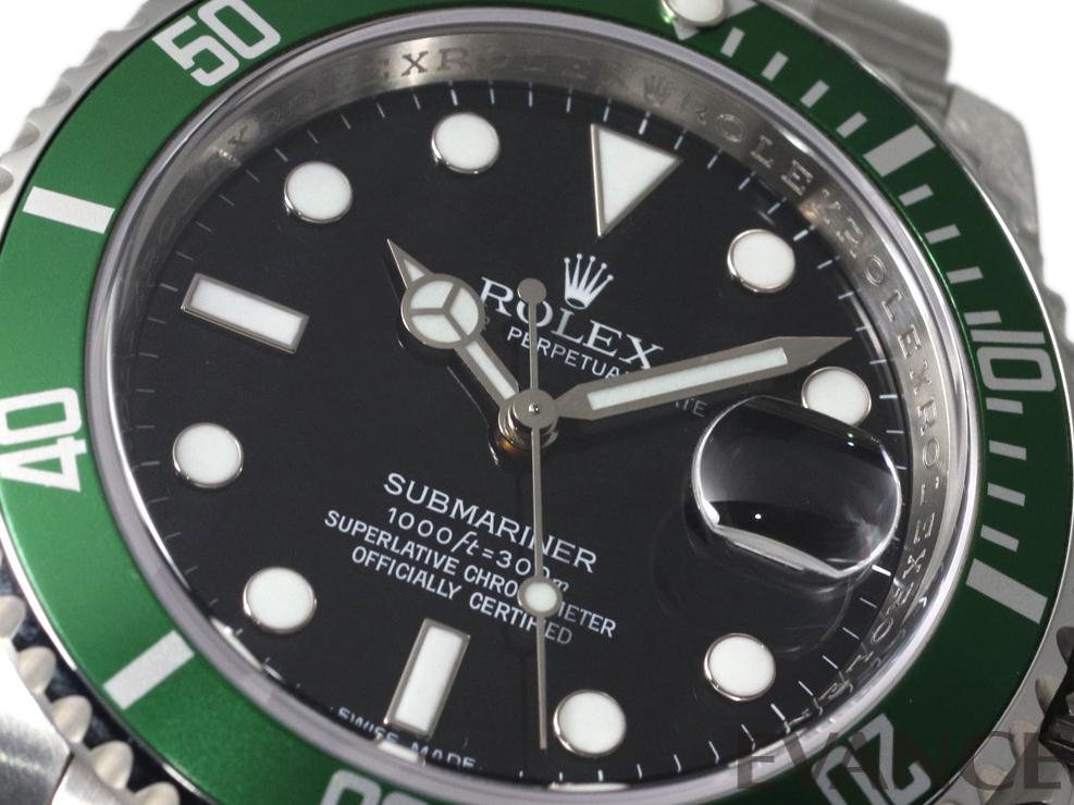 ROLEX ロレックス サブマリーナデイト 16610LV