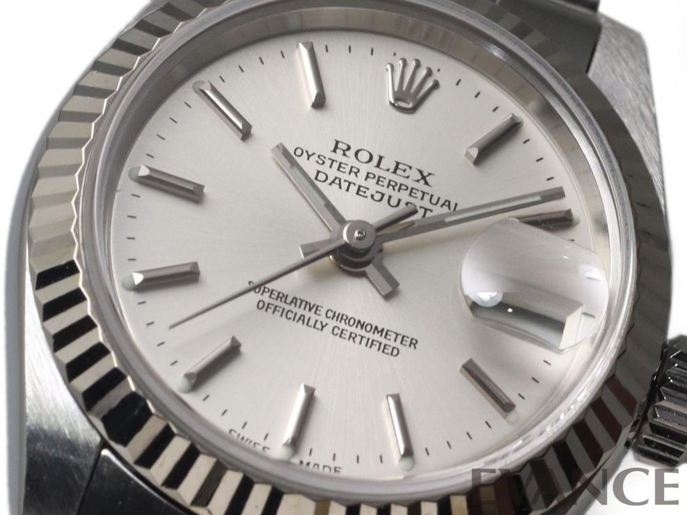 ROLEX ロレックス レディース デイトジャスト WGベゼル 79174