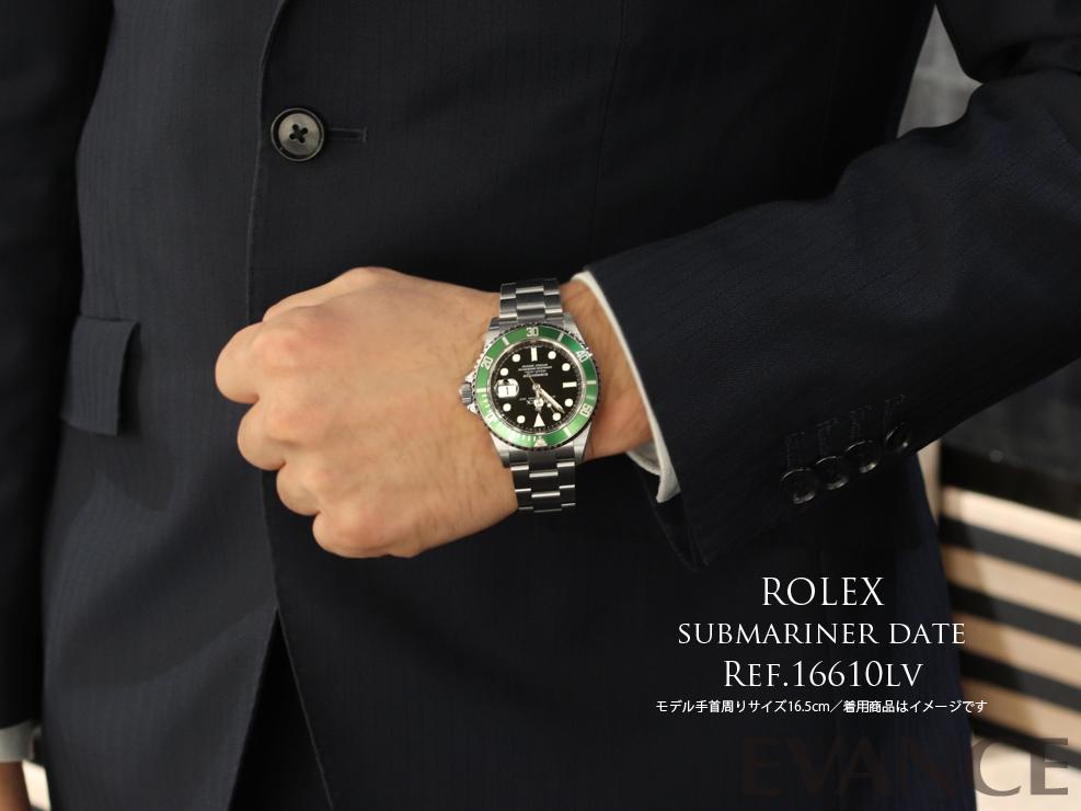 ROLEX ロレックス サブマリーナ デイト(保護シール付き・未使用デッドストック) 16610LV