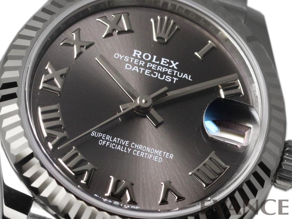ROLEX ロレックス デイトジャスト31 WGベゼル 278274
