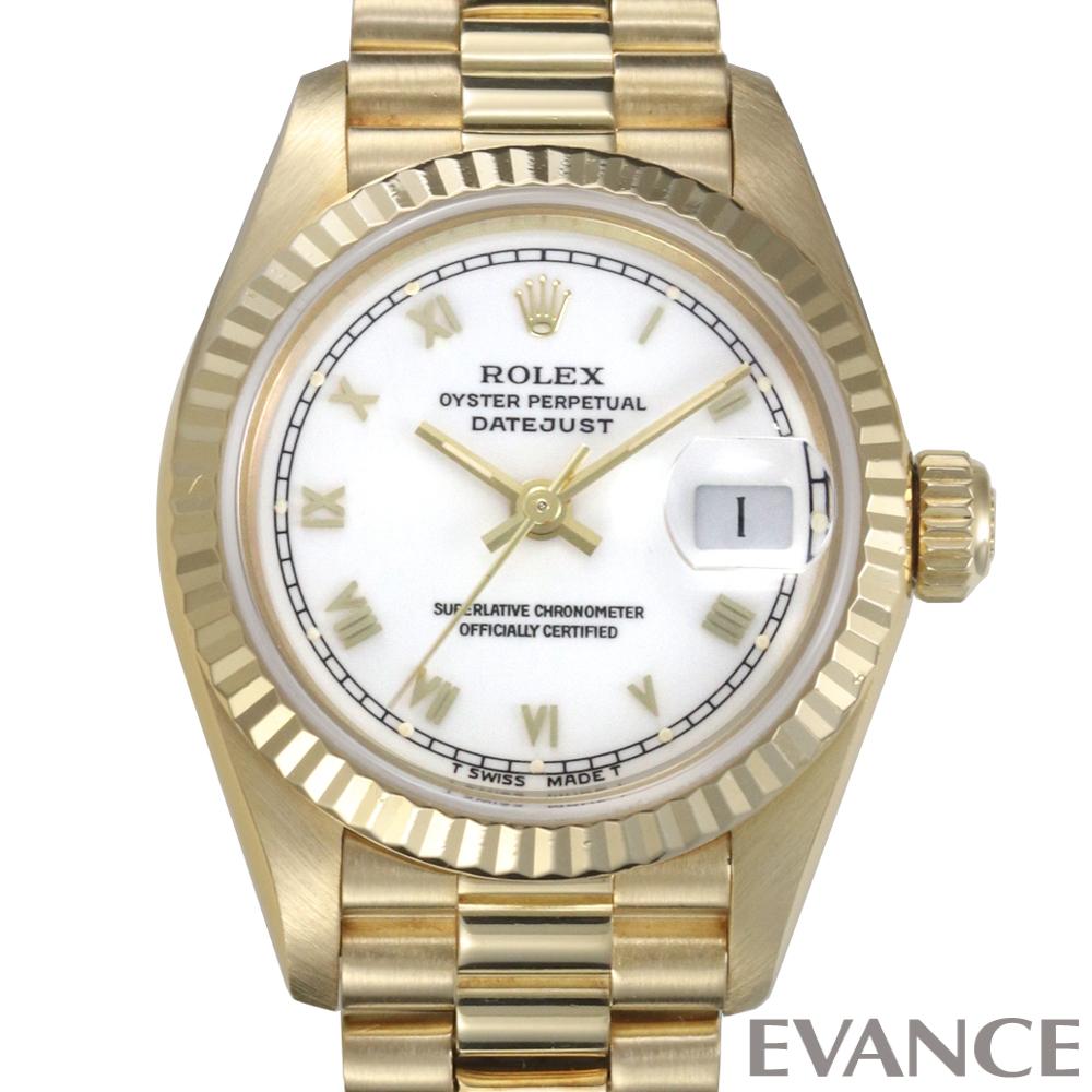 ROLEX ロレックス レディース デイトジャスト  ゴールド 69178