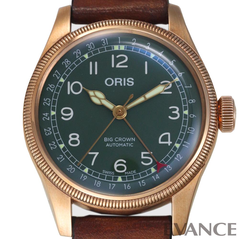 ORIS オリス ビッグクラウン ポインターデイト 80thアニバーサリーエディション 01 754 7741 3167-07 5 20 58BR