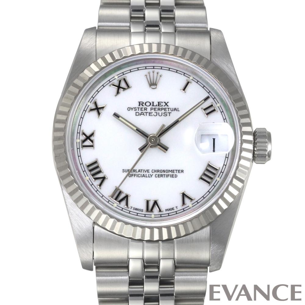 ROLEX ロレックス デイトジャスト31 WGベゼル 68274