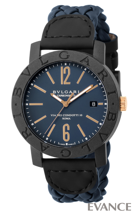 BVLGARI ブルガリ ブルガリブルガリ カーボン ゴールド BBP40C3CGLD