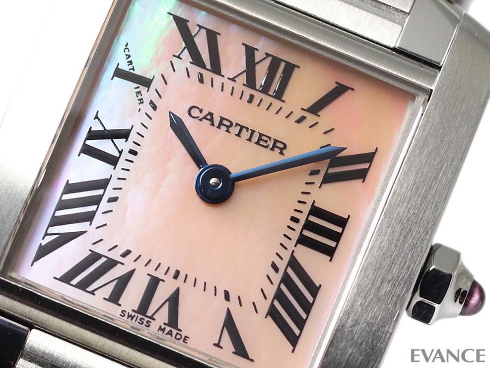 CARTIER カルティエ タンク フランセーズ SM W51028Q3