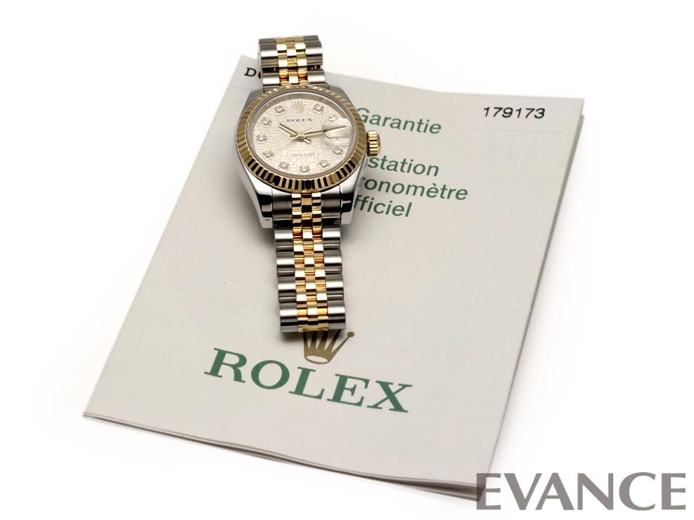 ROLEX ロレックス レディース デイトジャスト YGコンビ 179173G