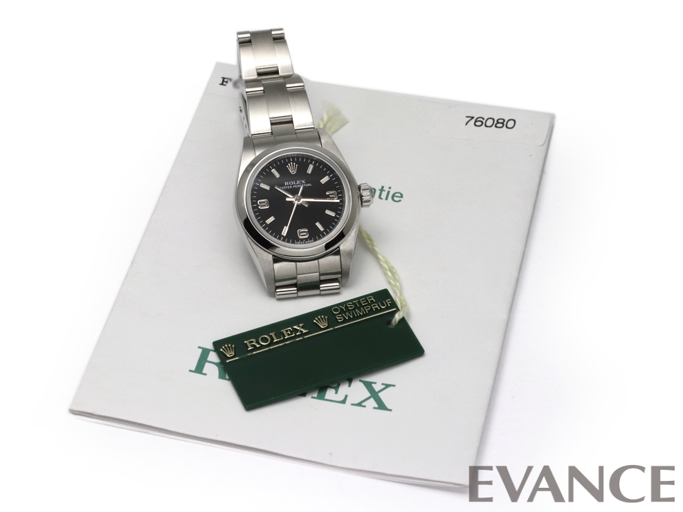 ROLEX ロレックス オイスター パーペチュアル 76080