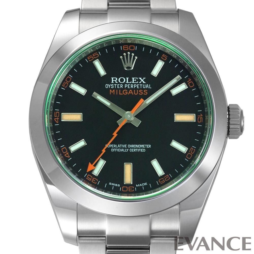 ROLEX ロレックス ミルガウス<保護シール付> 116400GV
