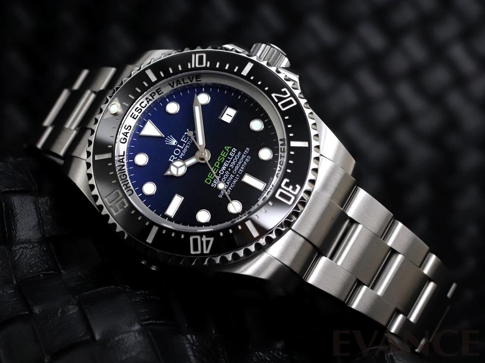 ROLEX ロレックス シードゥエラー ディープシー D-blueダイアル 116660