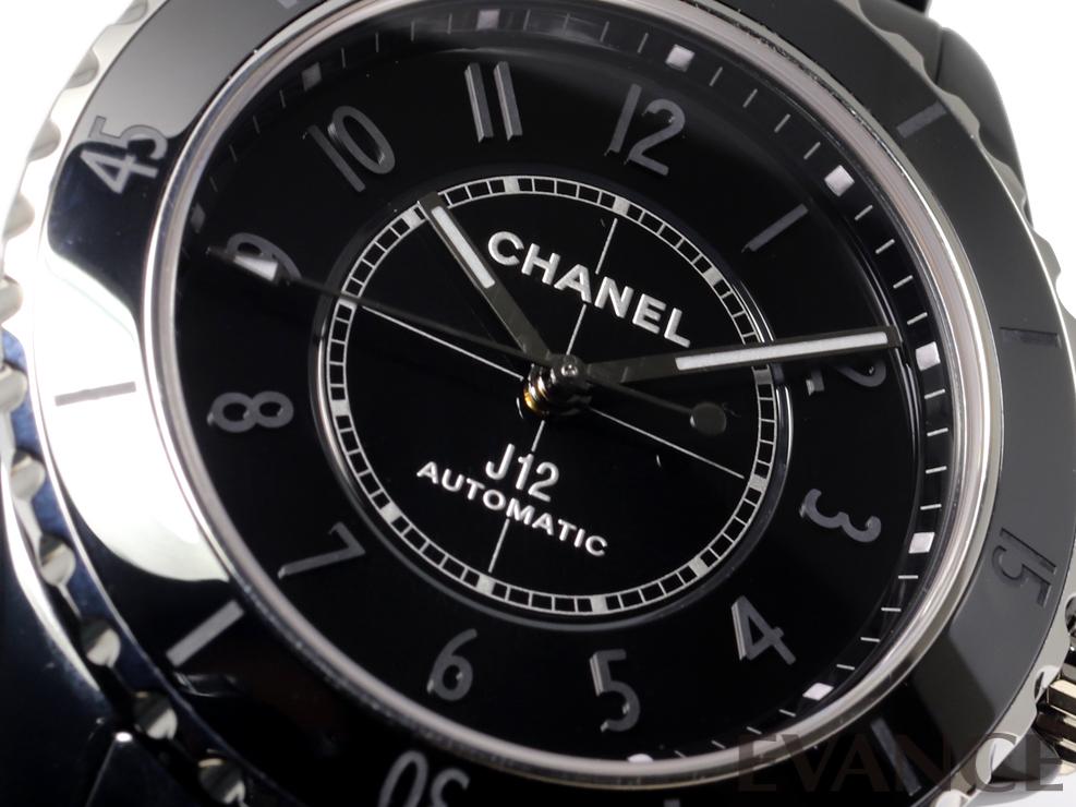 CHANEL シャネル J12 ファントム ブラック (世界限定1200本) H6185