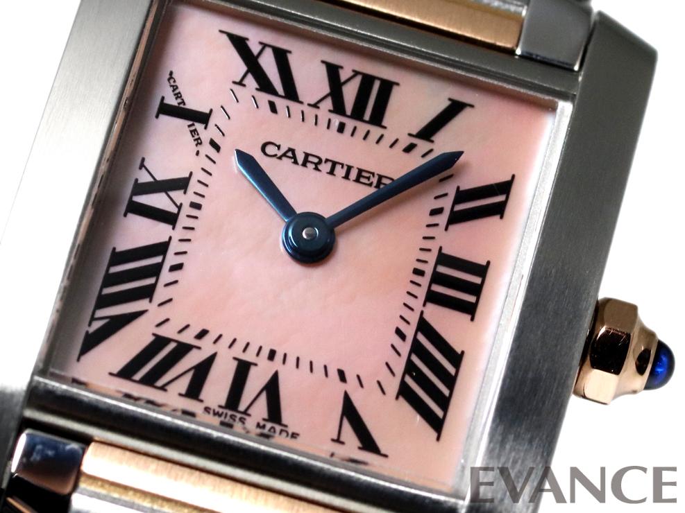 CARTIER カルティエ タンクフランセーズ SM W51027Q4
