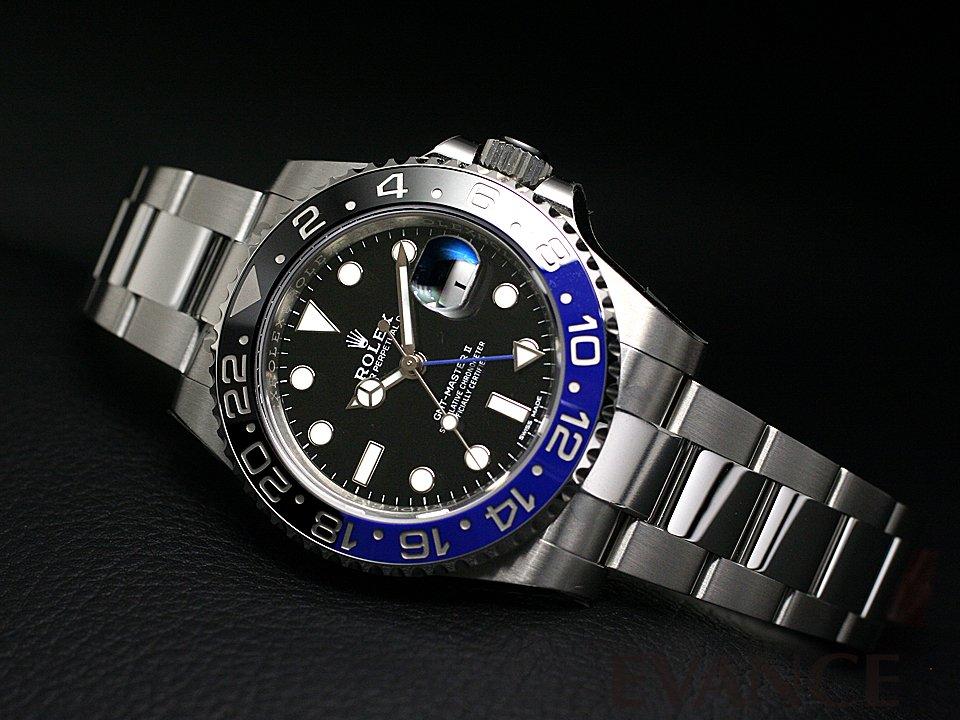 ROLEX ロレックス GMTマスターII<保護シール付> 116710BLNR