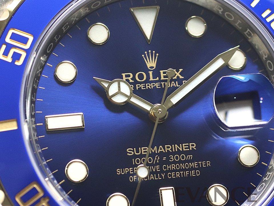 ROLEX ロレックス サブマリーナデイト コンビ 116613LB