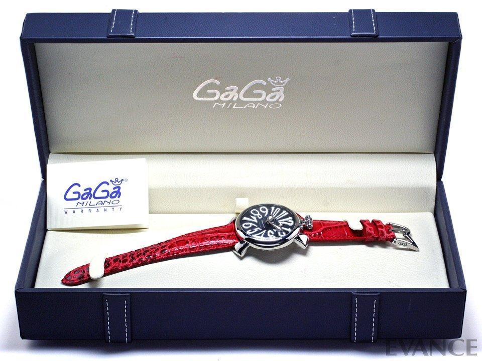 GAGA MILANO ガガ・ミラノ MANUALE 40MM ACCIAIO 5020.4