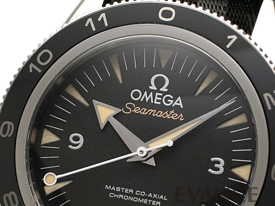 """OMEGA オメガ シーマスター300 マスターコーアクシャル """"スペクター"""" 233.32.41.21.01.001"""