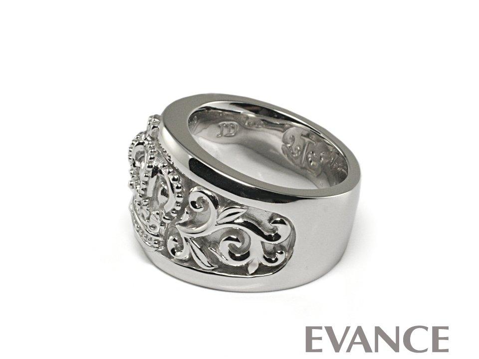 JUSTIN DAVIS ジャスティン デイビス [リング] GRACE OF GOD Ring (WG) GRJ750