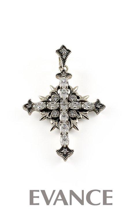 JUSTIN DAVIS ジャスティン デイビス [ペンダント] ST.POPE JOHN Pendant (クリア) SPJ196