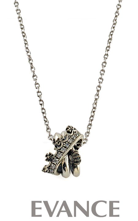 JUSTIN DAVIS ジャスティン デイビス [ネックレス] TWIST OF FATE Necklace(クリア) SNJ692