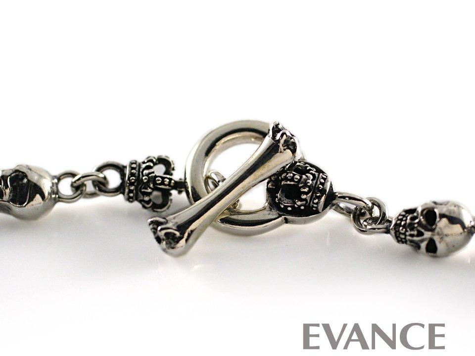 JUSTIN DAVIS ジャスティン デイビス [ブレスレット] SKULL DIVINE Bracelet SBJ126