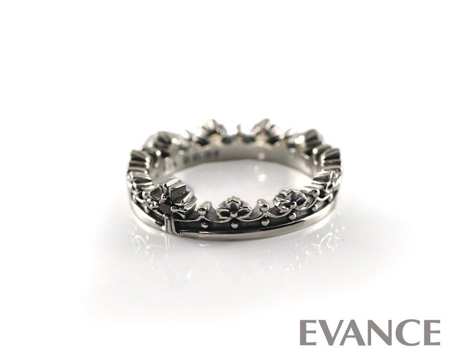 JUSTIN DAVIS ジャスティン デイビス [リング] CORONATION Ring (ブラックダイヤ) SRJ771