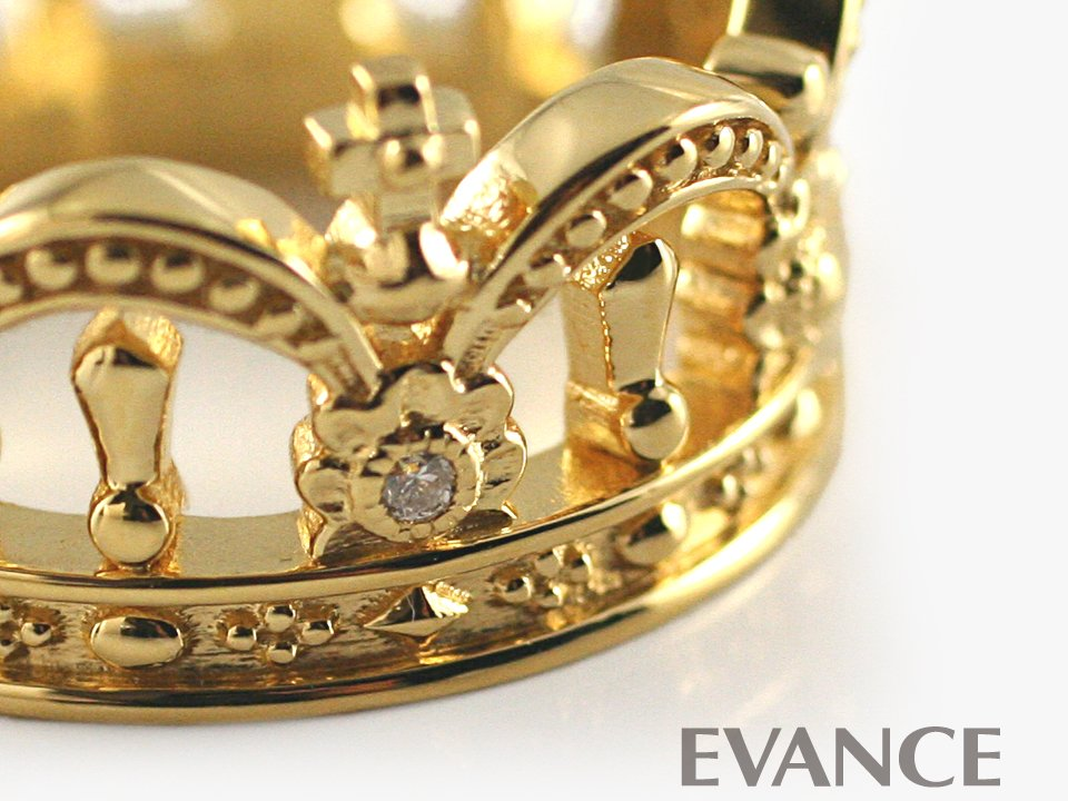 JUSTIN DAVIS ジャスティン デイビス [リング] VERONA Ring (ゴールドフィニッシュ) SRJ770