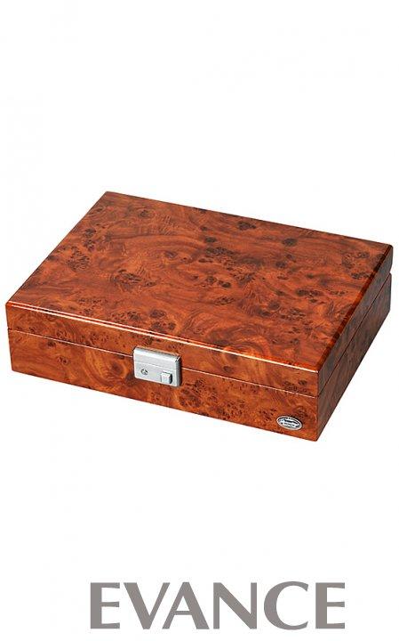 OTHER その他 ウォッチボックス(8本用)濃木目 LU51010RD