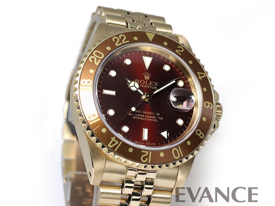 ROLEX ロレックス GMTマスター ゴールド 16758